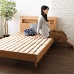 床板に隙間のあいているすのこベッドの強度は?