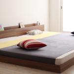 幅の広い連結ベッドを1枚のカバーで包めないものかしら