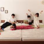 3人家族や4人家族が一緒に寝られるベッドのサイズは?
