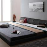 北欧風のシンプルモダンな連結ベッドを紹介します