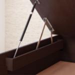 跳ね上げ式ベッドの床板が元に戻らなくなったら?