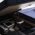 2人で使っても便利な跳ね上げ式ベッド 2つのデメリットと2つのメリット