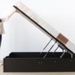 組み立てが簡単な跳ね上げ式ベッドはあれば助かります