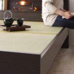 畳ベッドが腰掛けになるというメリット