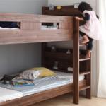 二段ベッドのはしごの上り下りは安全なの?