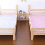 ライフプランに合わせた二段ベッドの経時的使用法