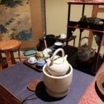奈良の三五夜での初煎会